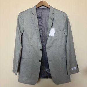 Men's 18 Gray Professional Blazer Calvin Klein